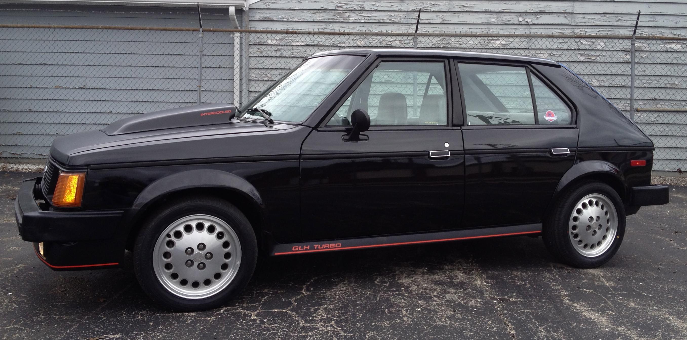 For Sale 1986 Dodge Omni Glh Turbo
