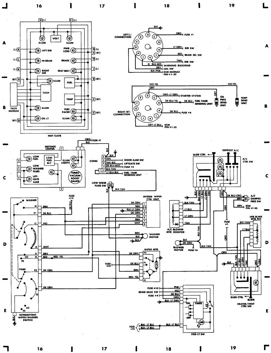 mopar 1988 wiring diagram wiring diagram and schematic 88 dodge ram 50 signal lights inop on my 2 0 wiring diagram