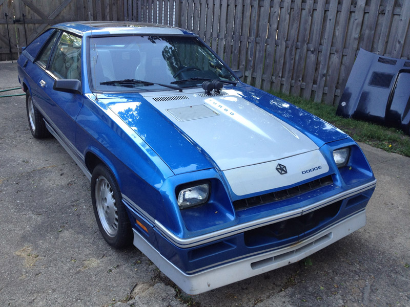 For Sale: 1986 Shelby Charger