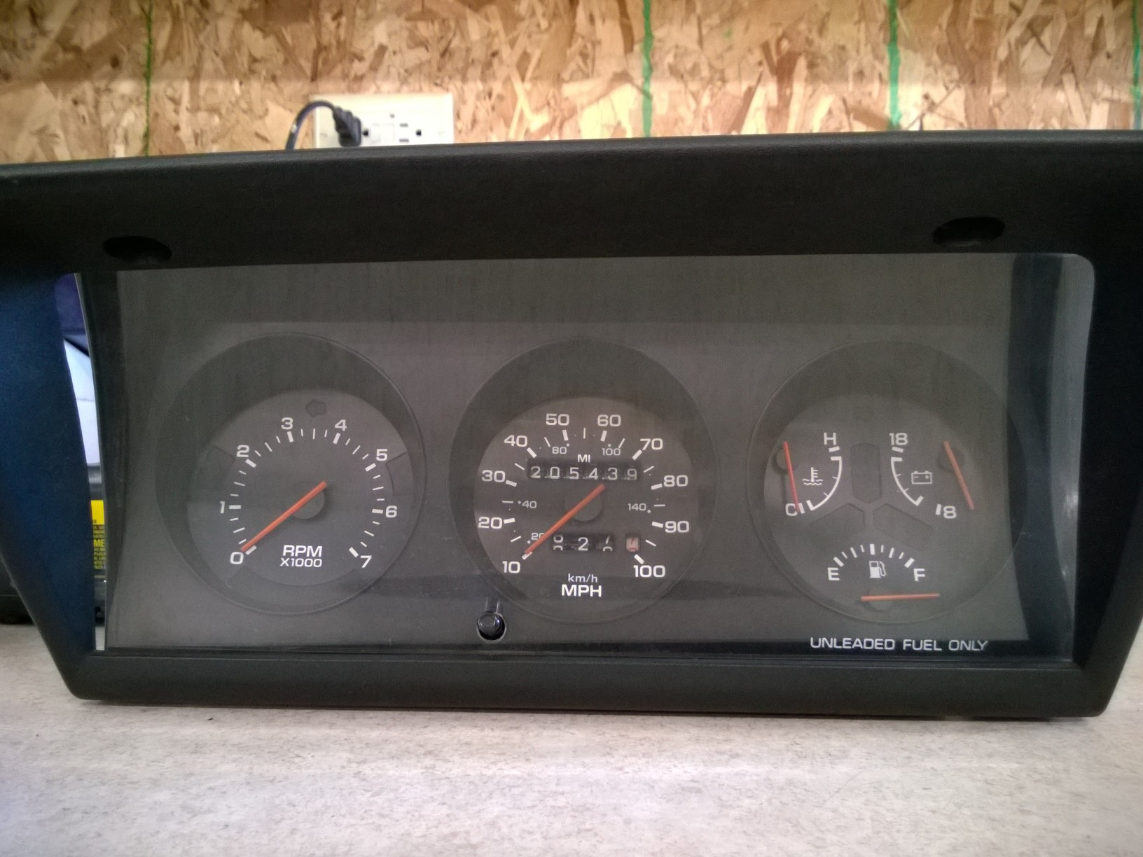 Electronics 1990 Dodge Omni Instrument Cluster With Bezel And 89 Wiring Wire Odo Shows Over 200k Miles Hard To Find Only Includes Perfect Too 75 Free Standard Shipping 48 Continental States