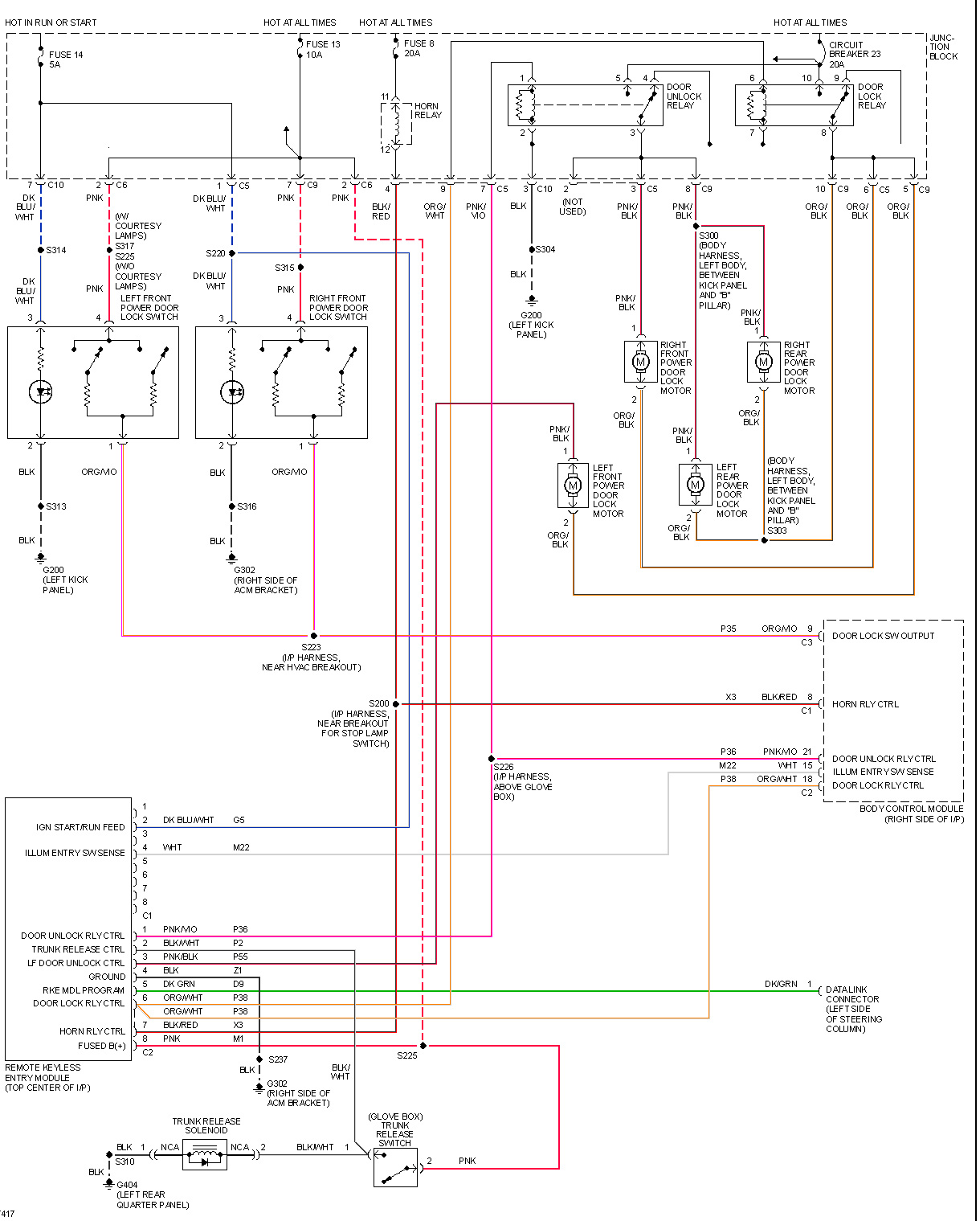 trw wiring diagrams