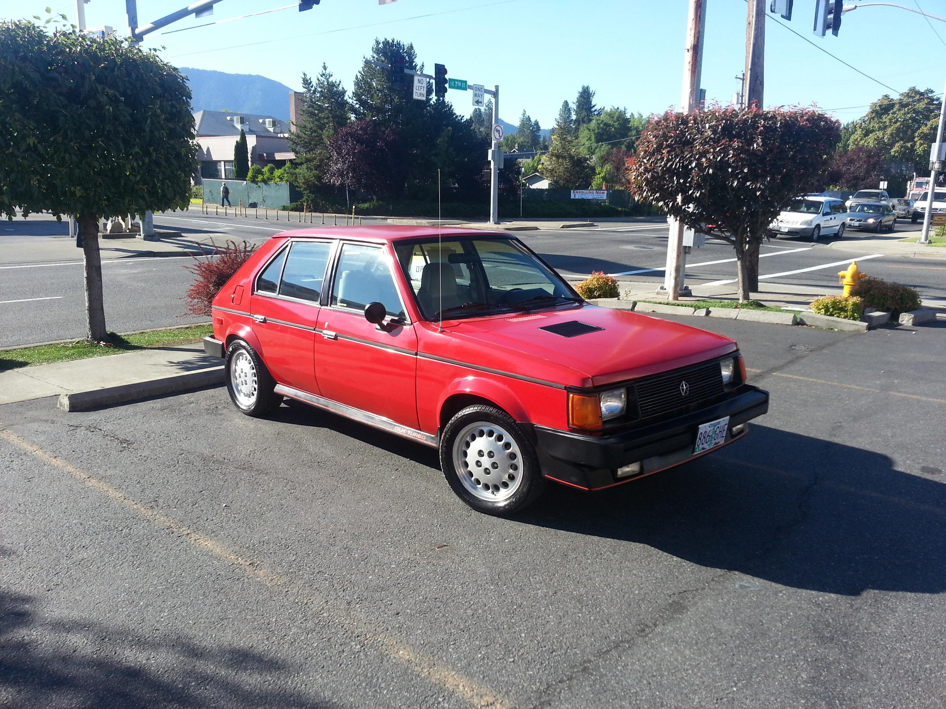 1989 Dodge Omni for Sale 1 - Glh Dodge Omni With Complete T Setup Oregoncalifornia Car - 1989 Dodge Omni for Sale 1