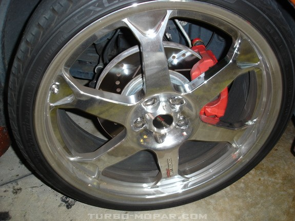Power Slot Cross drilled, slotted rotors all 4 corners