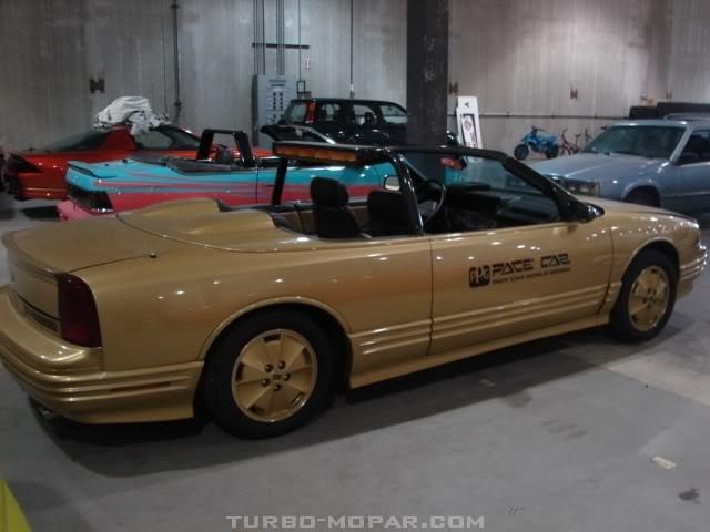 88 Cutlass PPG pace car