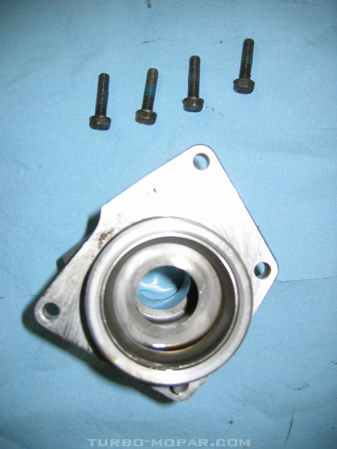 Aluminum Bearing Retainer/external view