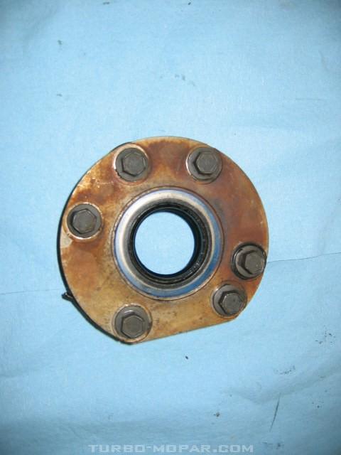 Steel bearing Retainer/External view