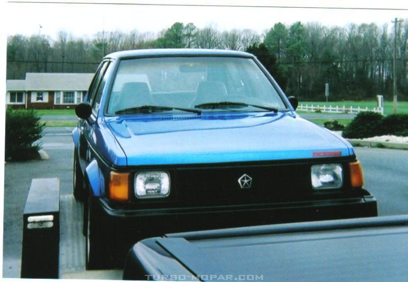 My 1986 Omni GLH