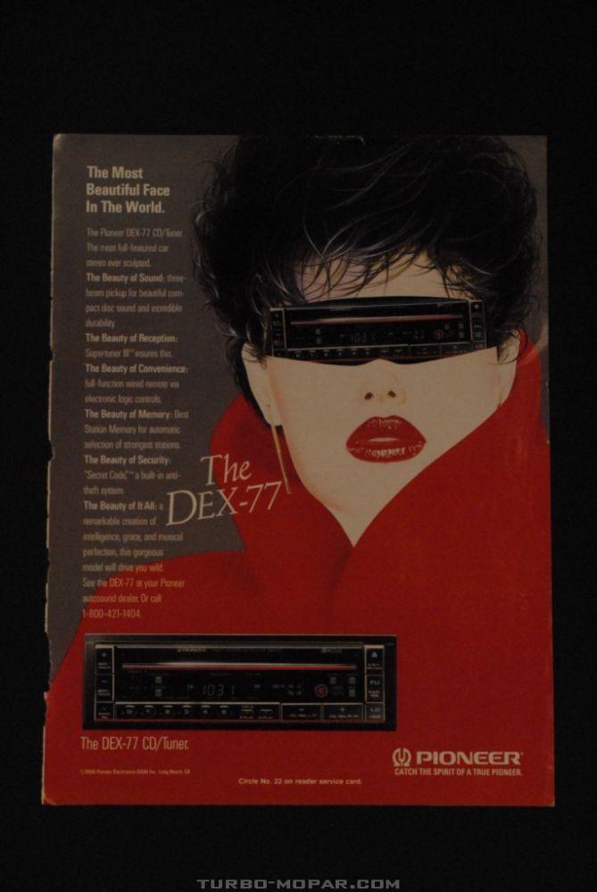 DEX-77 original ad