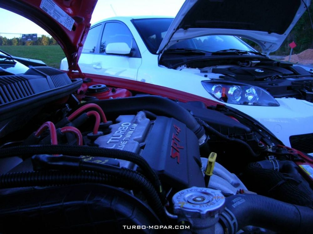 SRT Engine at dusk