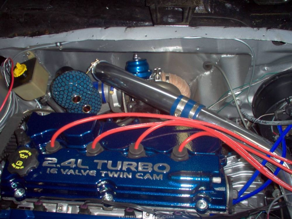 Valve cover and Turbo