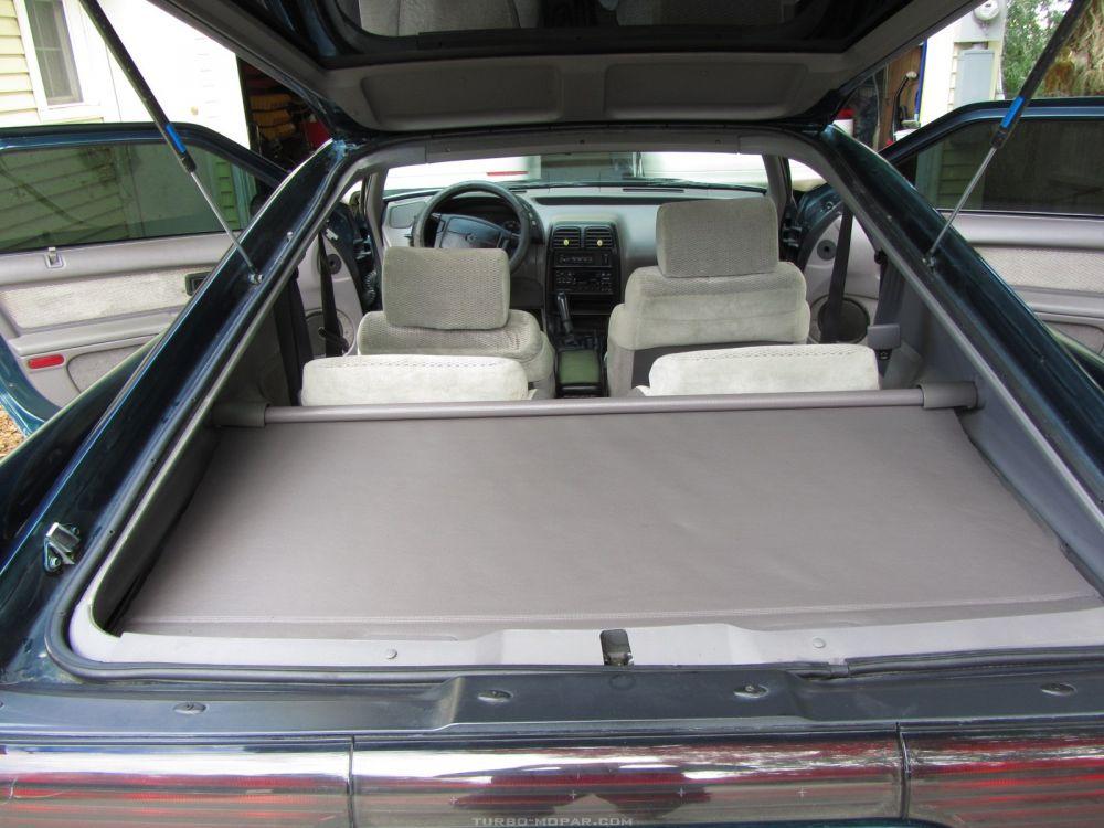 Trunk hatch interior