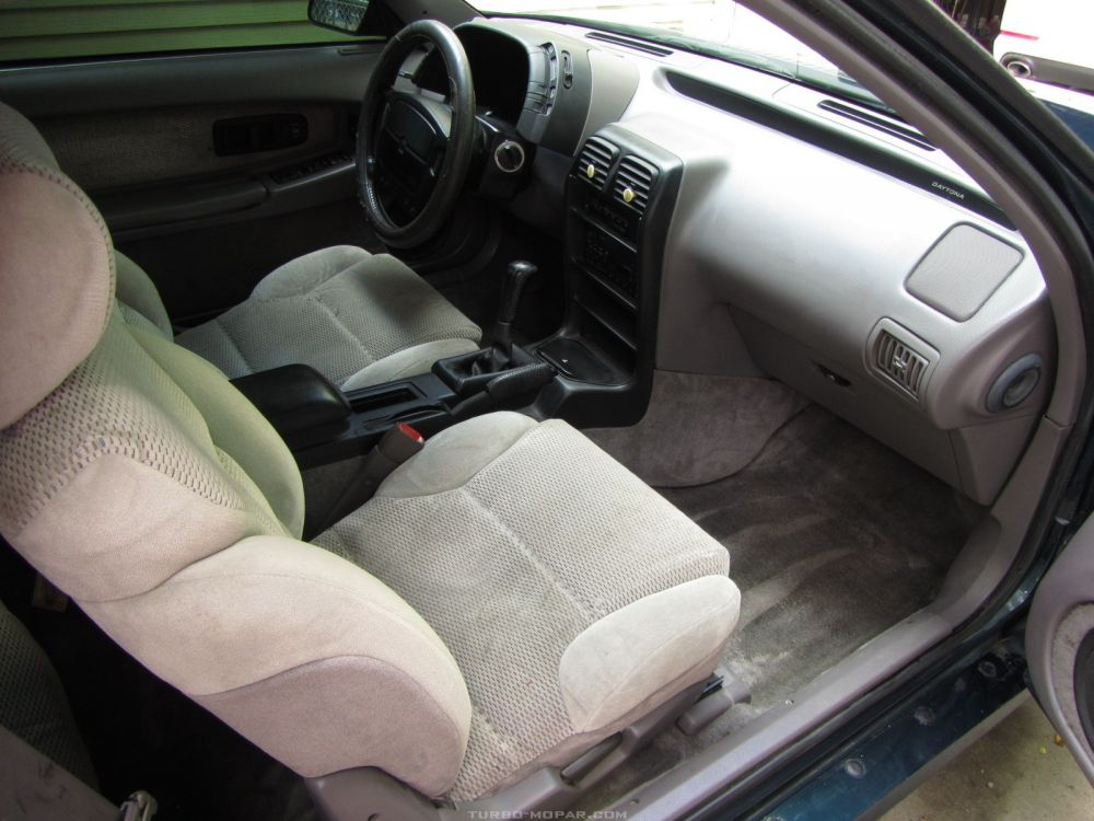 Passenger side interior