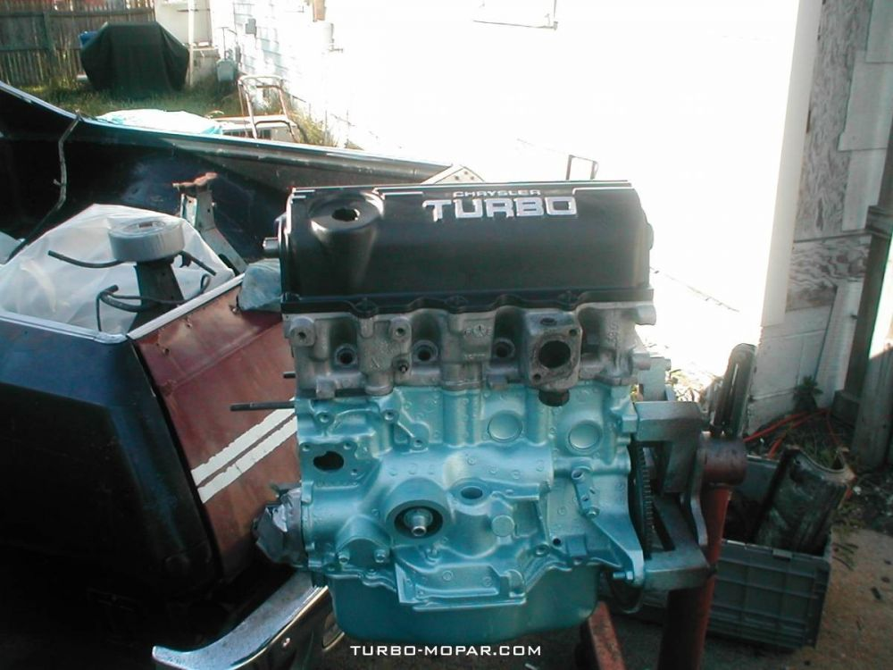 T2 engine build up