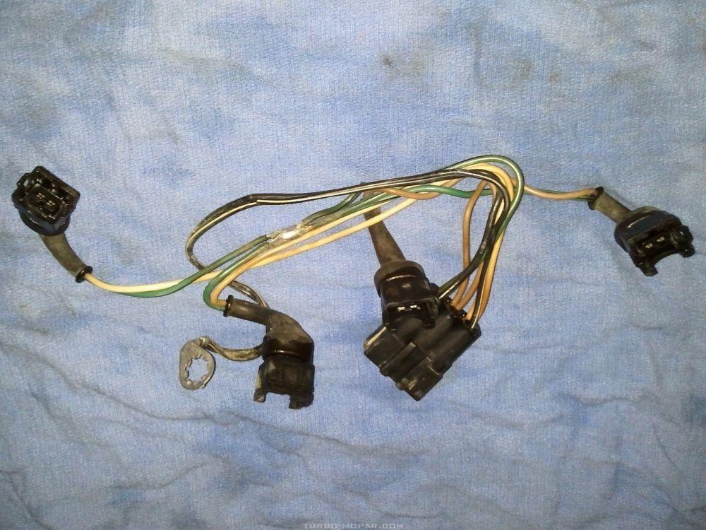 88 TI injector harness