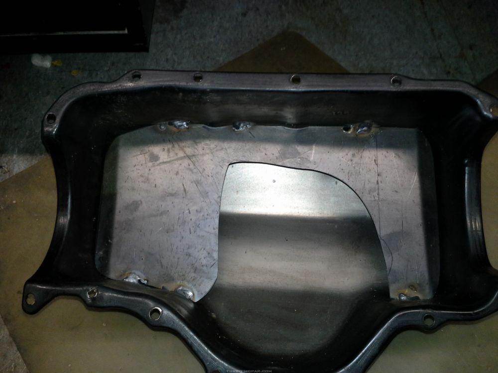 oil pan baffle