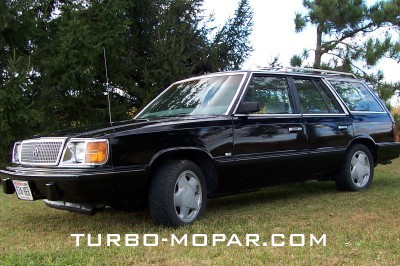 1986 Plymouth Reliant Wagon Turbo