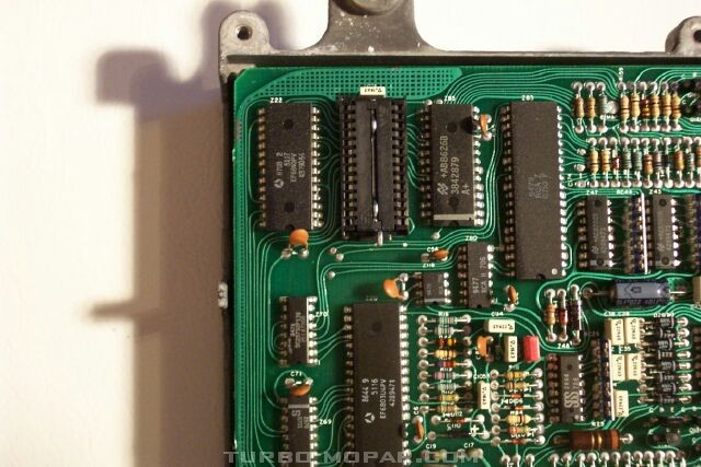 87 Logic Module ZIF socket
