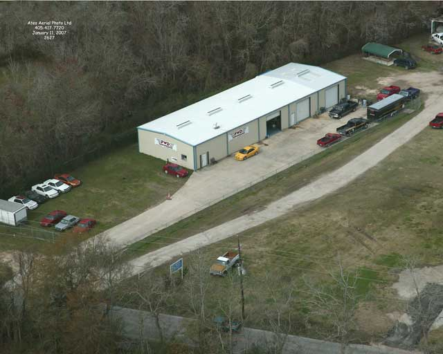 FWD Performance Shop Aerial
