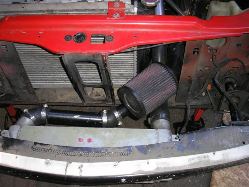 944 IC Installed In J Body Bumper