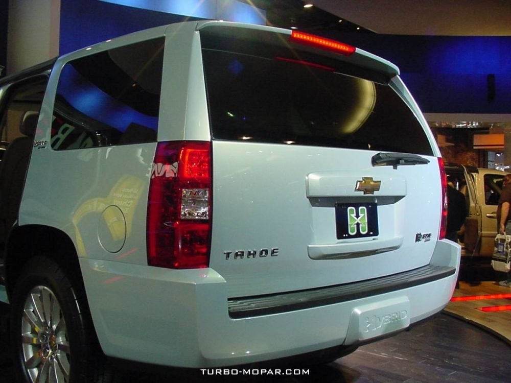 2007_Chevrolet_Tahoe_Hybrid-rear_view