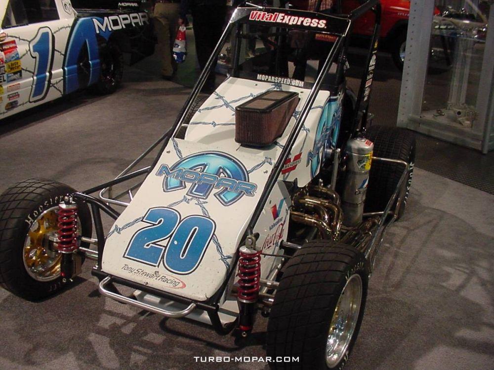 Mopar_Tony_Stewart_Racing_Midget_Race_Car