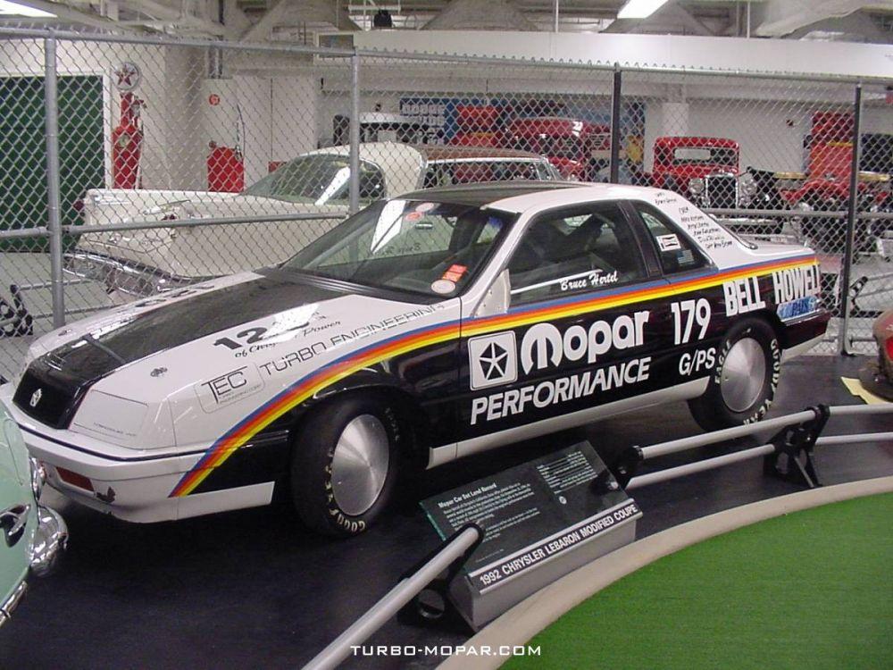 1990_Chrysler_LeBaron_VNT_Turbo_Salt_Flat_race_car
