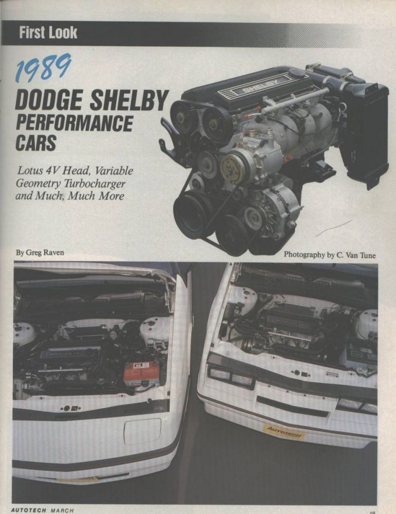 Auto Tech Mag. Article - Page 1