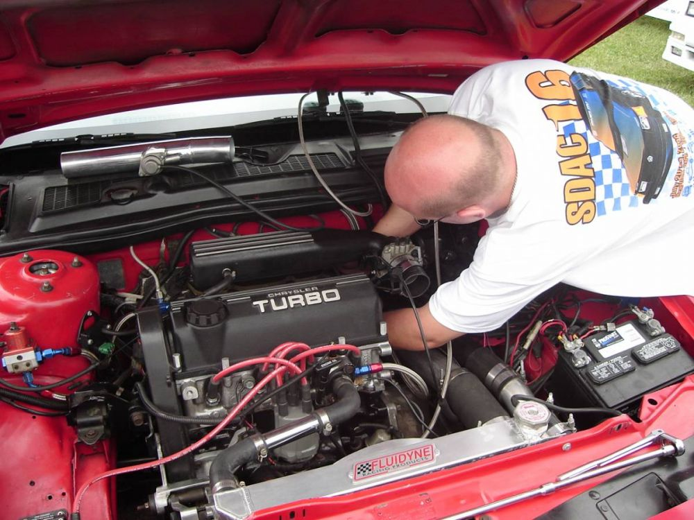 Intercooler hose installation is difficult for the folically challenged