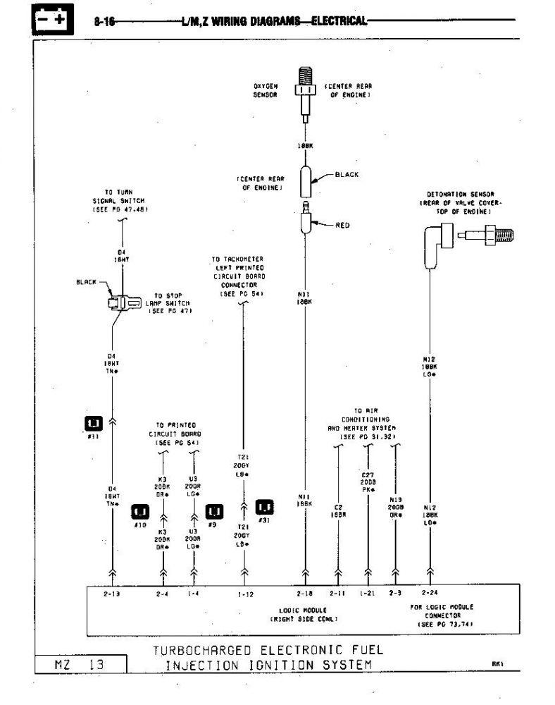 85 GLH Turbo Ingition Sys #1